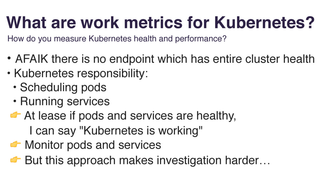What are work metrics for Kubernetes? How do yo...