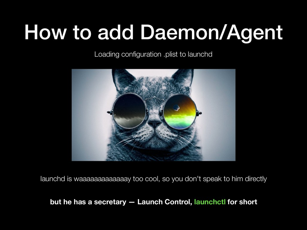 How to add Daemon/Agent Loading configuration .p...