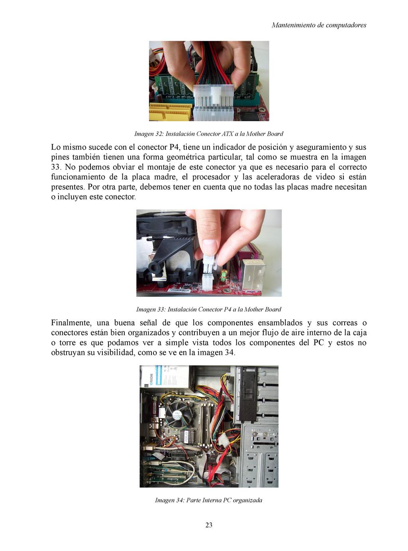 Mantenimiento de computadores Imagen 32: Instal...