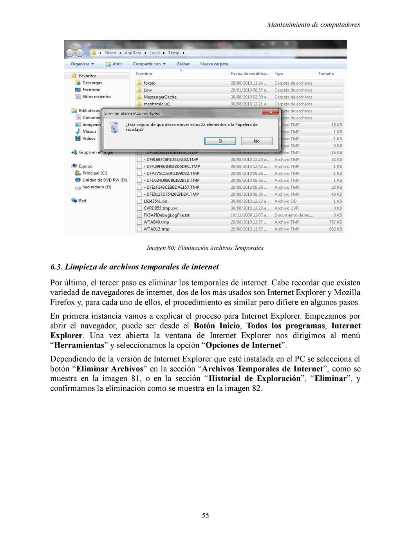 Mantenimiento de computadores Imagen 80: Elimin...
