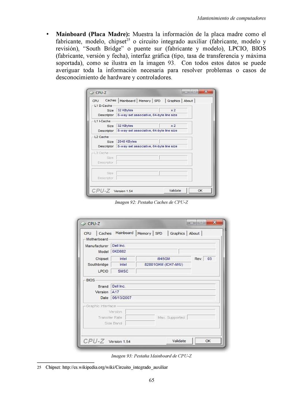 Mantenimiento de computadores • Mainboard (Plac...