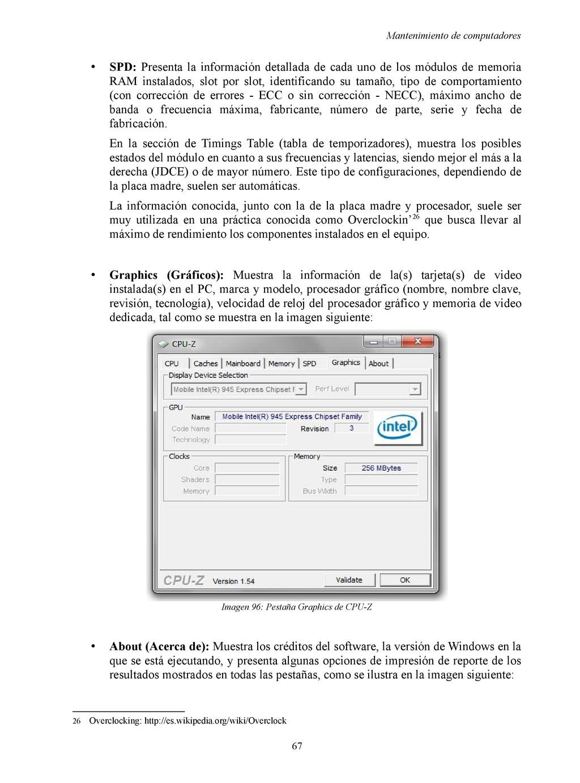 Mantenimiento de computadores • SPD: Presenta l...
