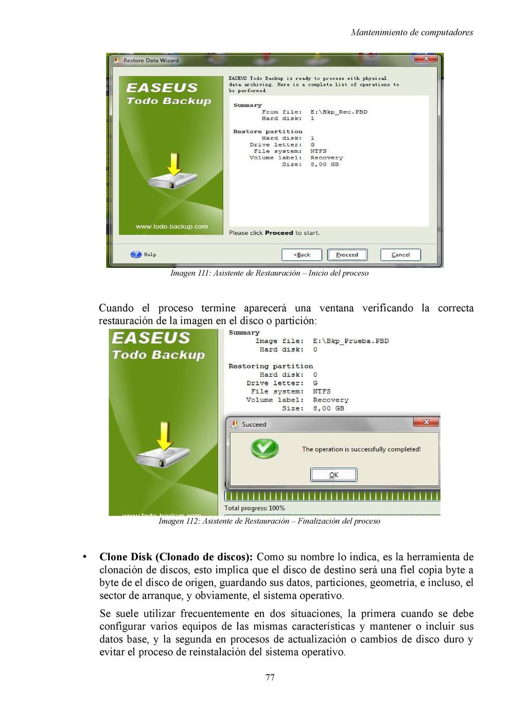 Mantenimiento de computadores Imagen 111: Asist...