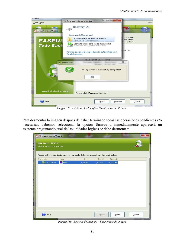 Mantenimiento de computadores Imagen 118: Asist...
