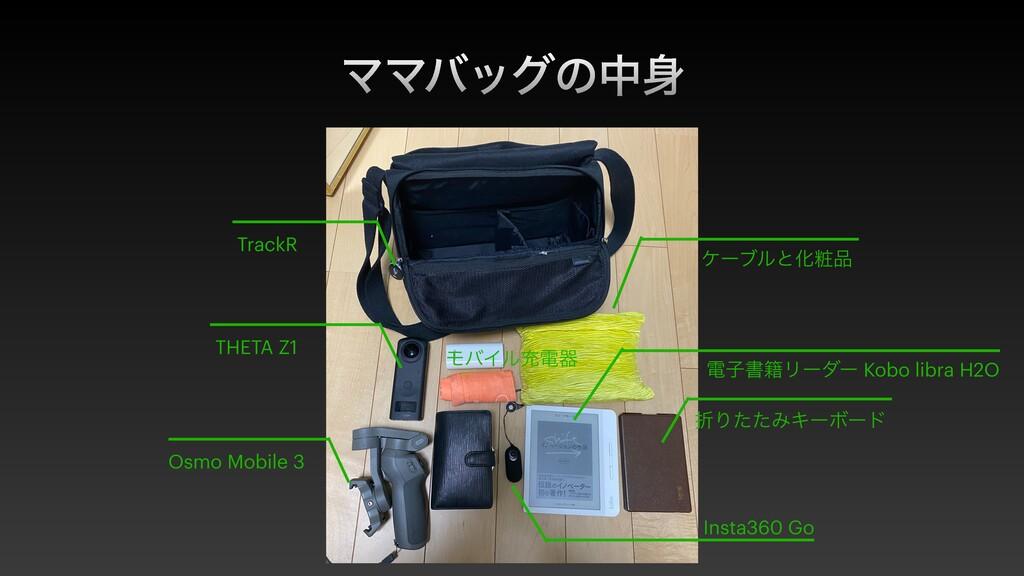 ϚϚόοάͷத ંΓͨͨΈΩʔϘʔυ THETA Z1 Insta360 Go TrackR...