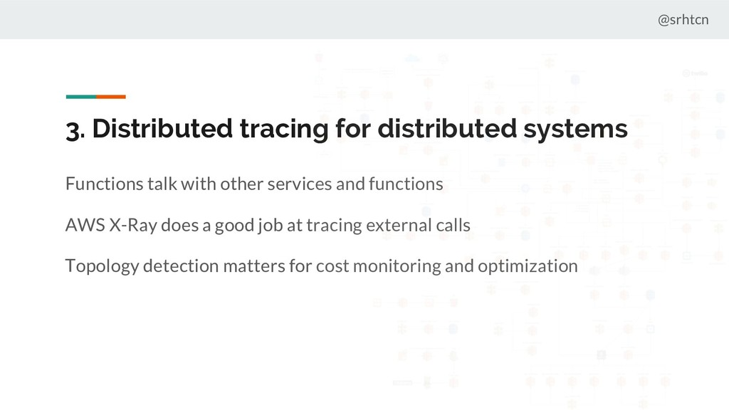 @srhtcn 3. Distributed tracing for distributed ...