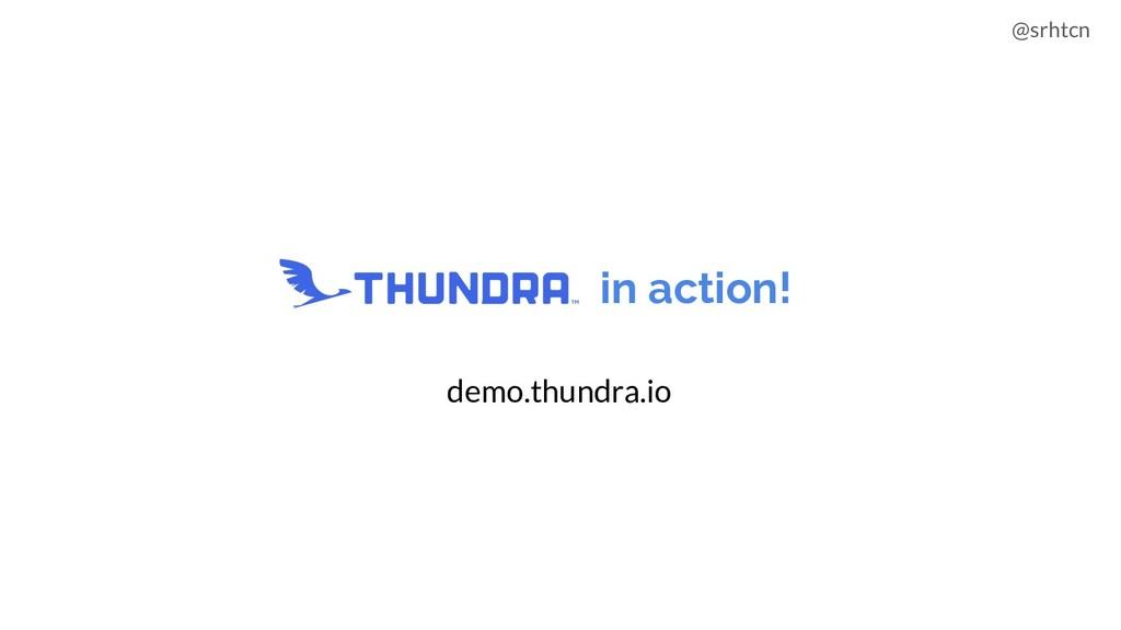 @srhtcn Thundra in action! demo.thundra.io
