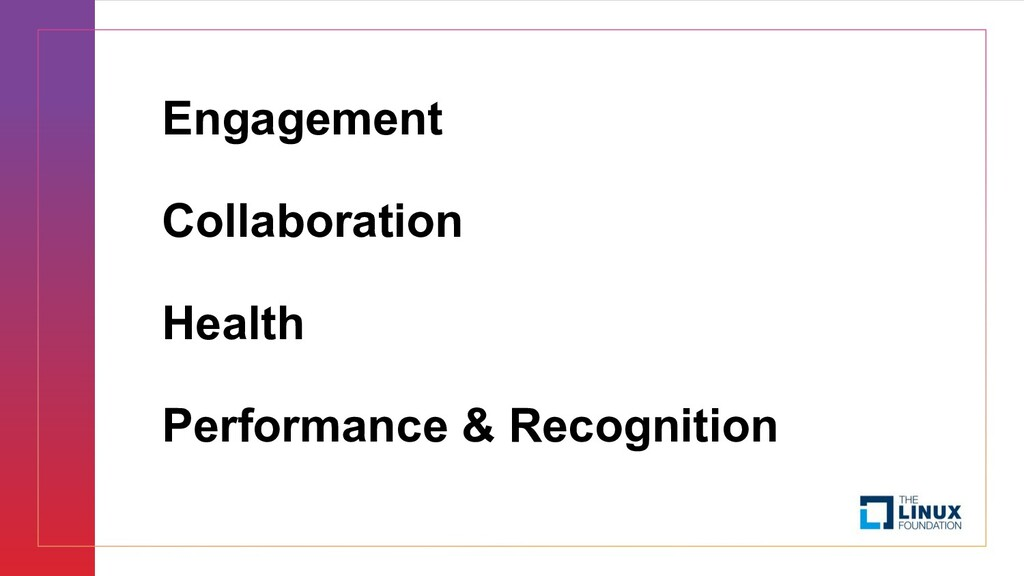 Engagement Collaboration Health Performance & R...