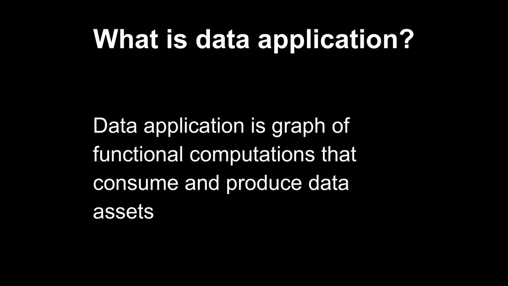 What is data application? Data application is g...
