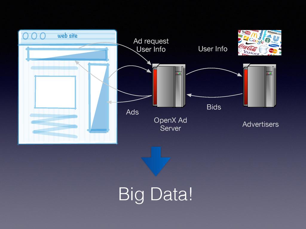 web site 0 0 0 Ad request User Info OpenX Ad Se...
