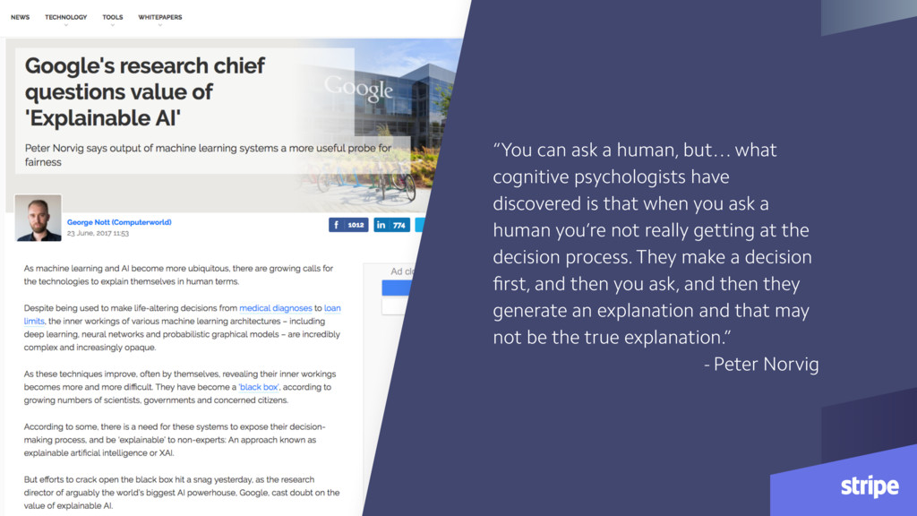 """""""You can ask a human, but… what cognitive psych..."""