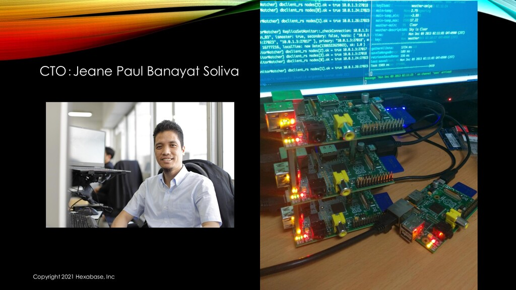 CTO:Jeane Paul Banayat Soliva Copyright 2021 He...