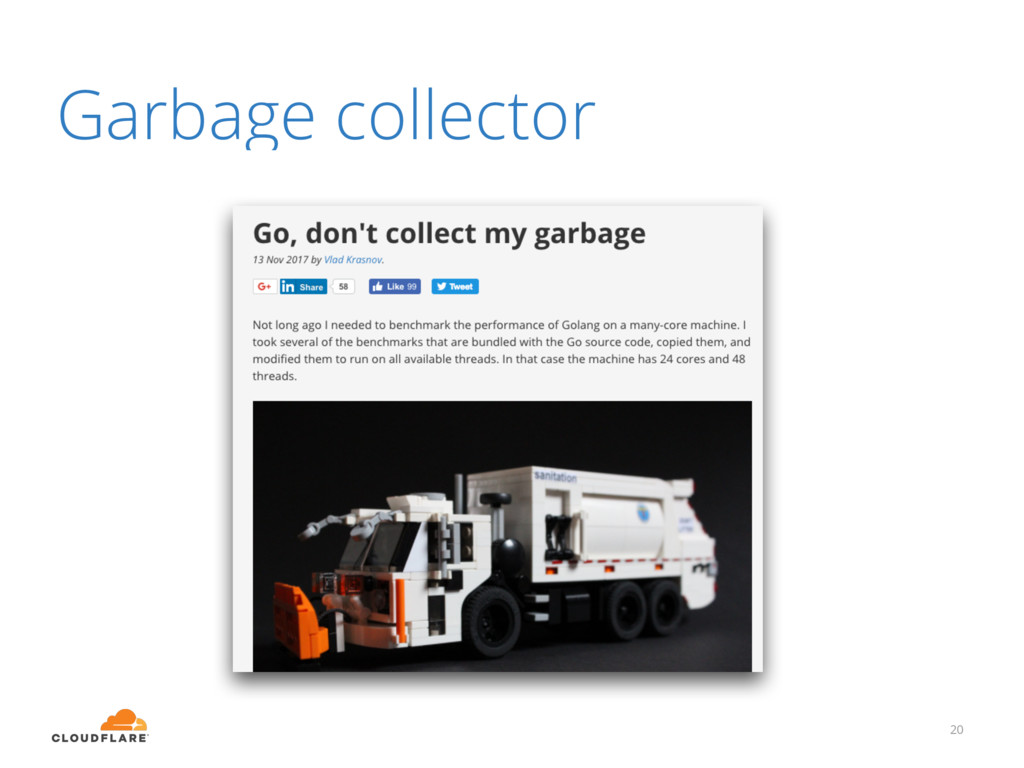 Garbage collector 20