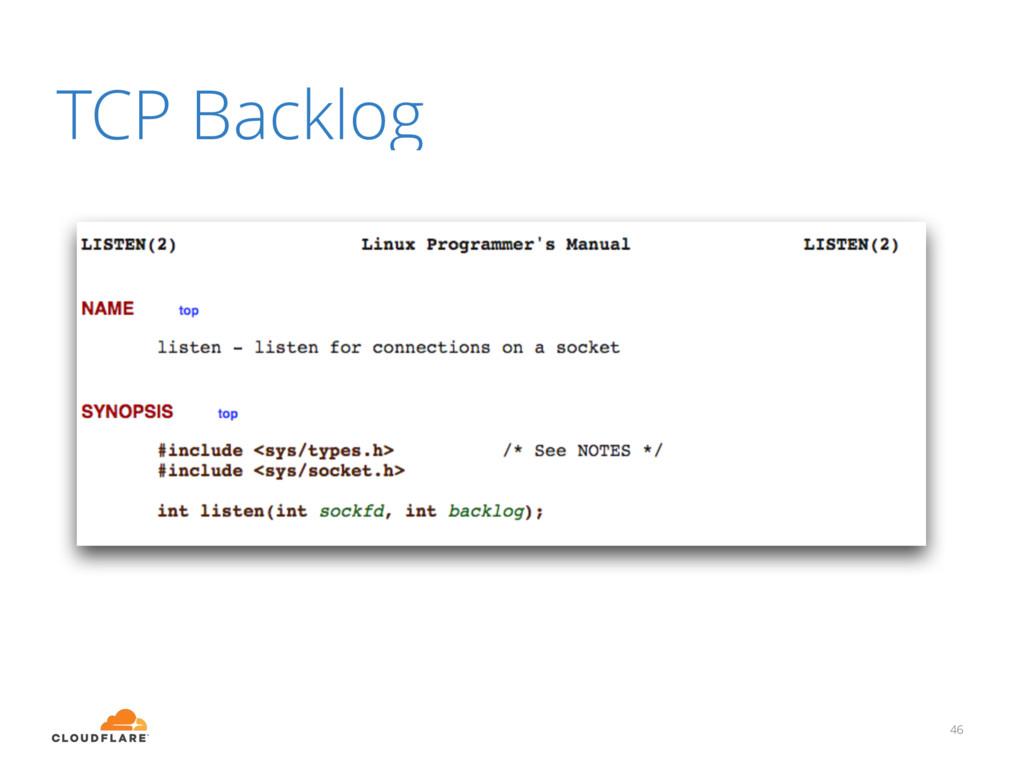 TCP Backlog 46