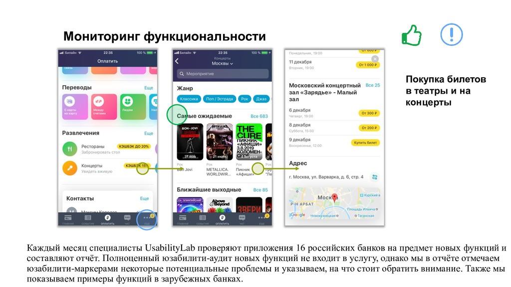 Мониторинг функциональности Покупка билетов в т...