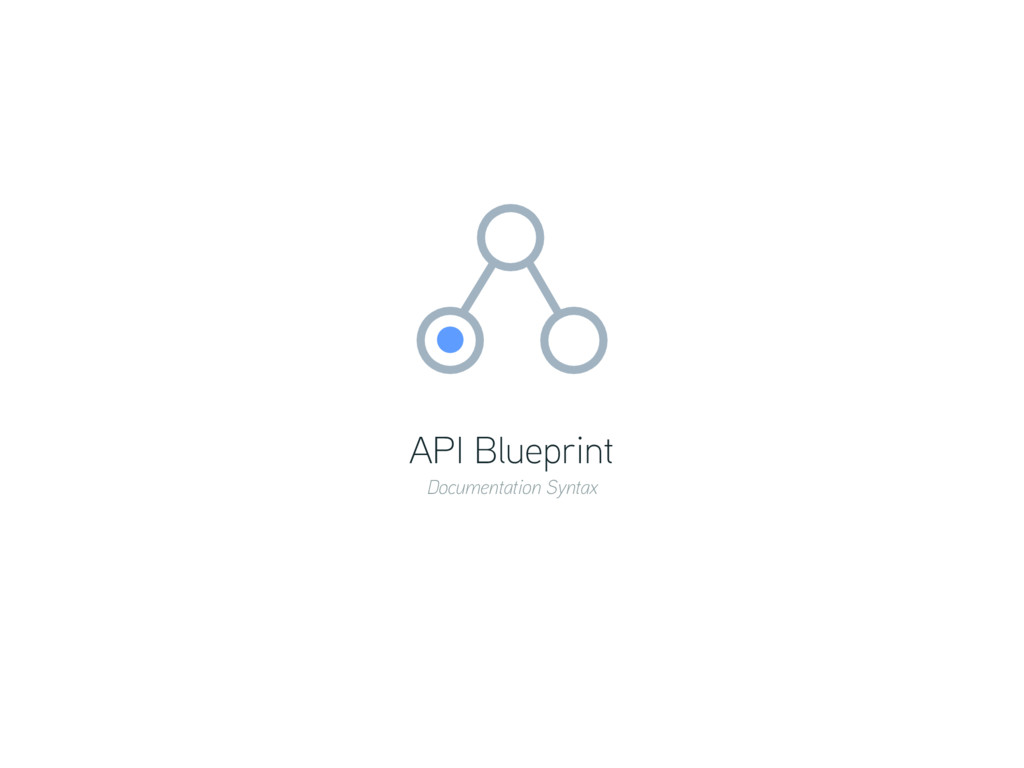 API Blueprint Documentation Syntax