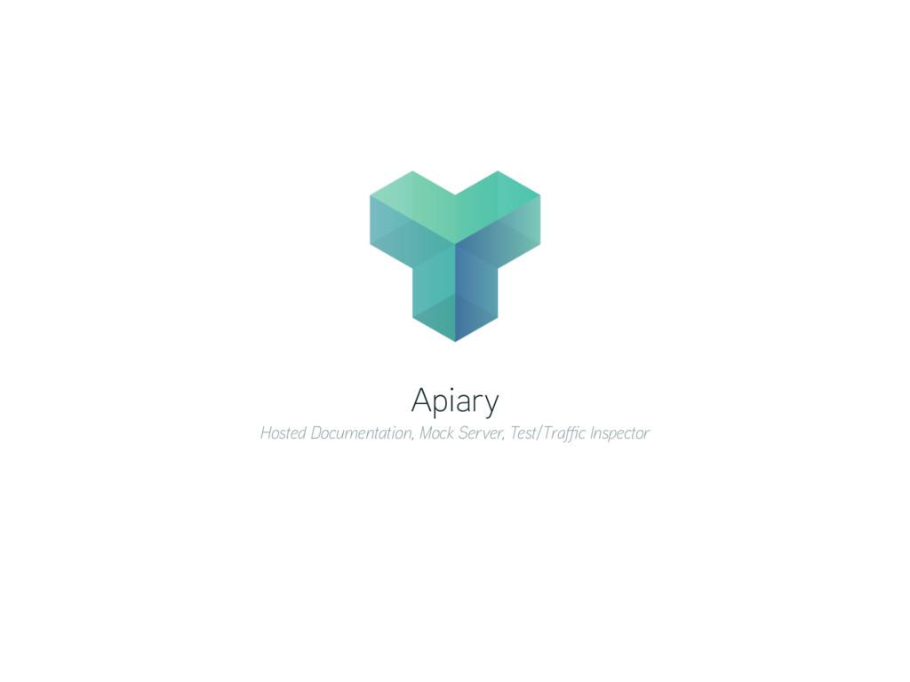 Apiary Hosted Documentation, Mock Server, Test/...