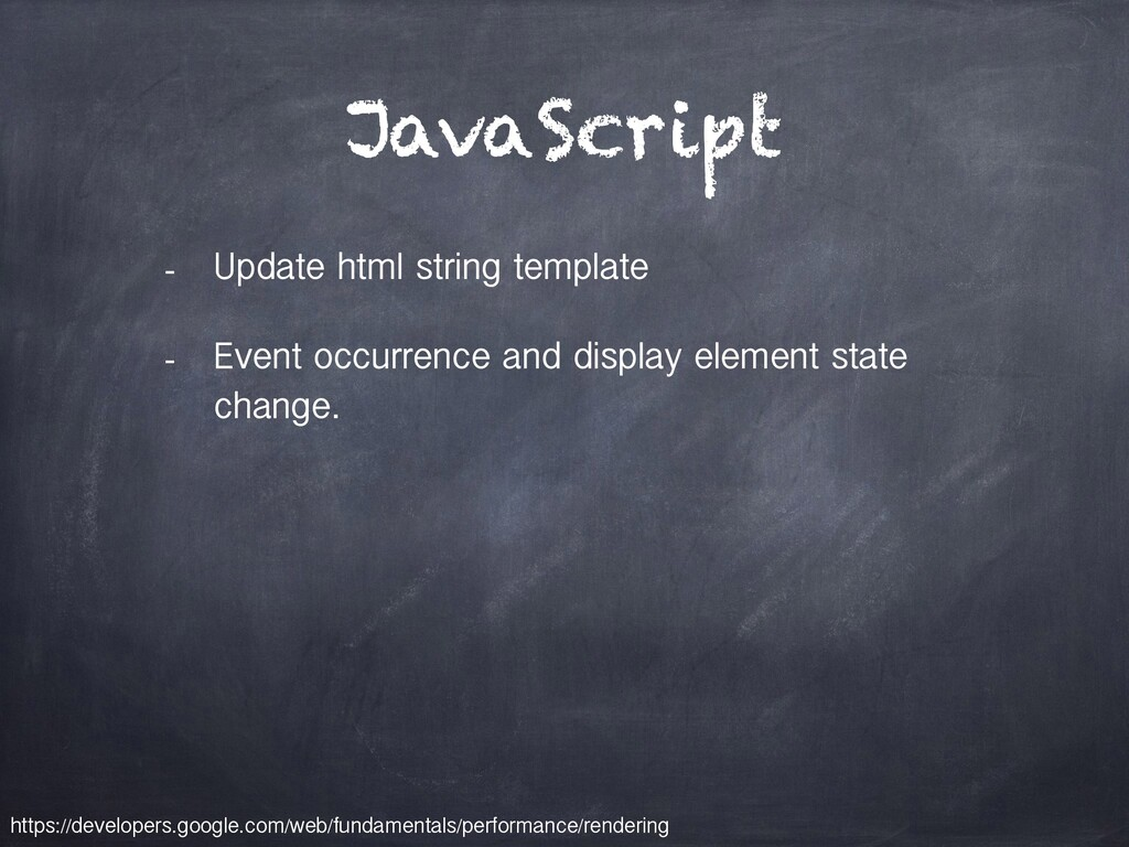 JavaScript - Update html string template - Even...