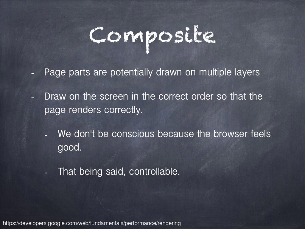 Composite - Page parts are potentially drawn on...