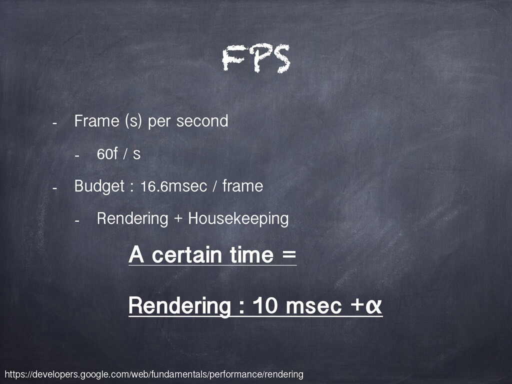 FPS - Frame (s) per second - 60f / s - Budget :...