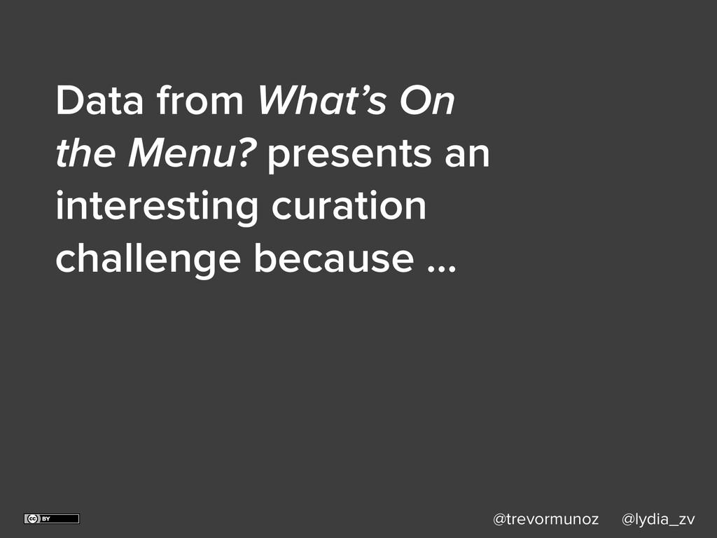 @trevormunoz @lydia_zv Data from What's On the ...