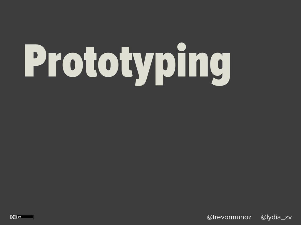 @trevormunoz @lydia_zv Prototyping