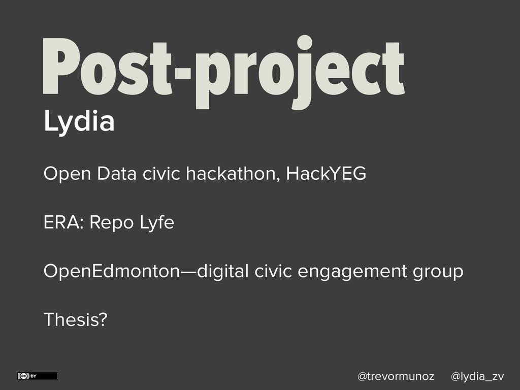 @trevormunoz @lydia_zv Post-project Open Data c...