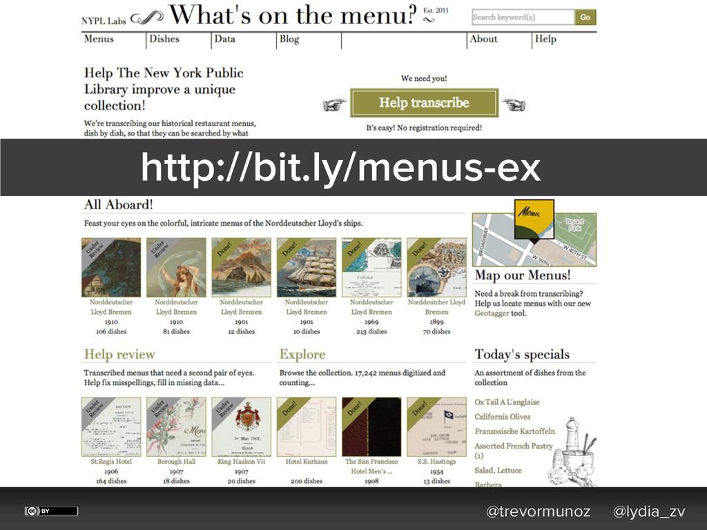 @trevormunoz @lydia_zv http://bit.ly/menus-ex