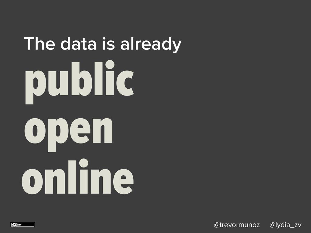 @trevormunoz @lydia_zv The data is already publ...