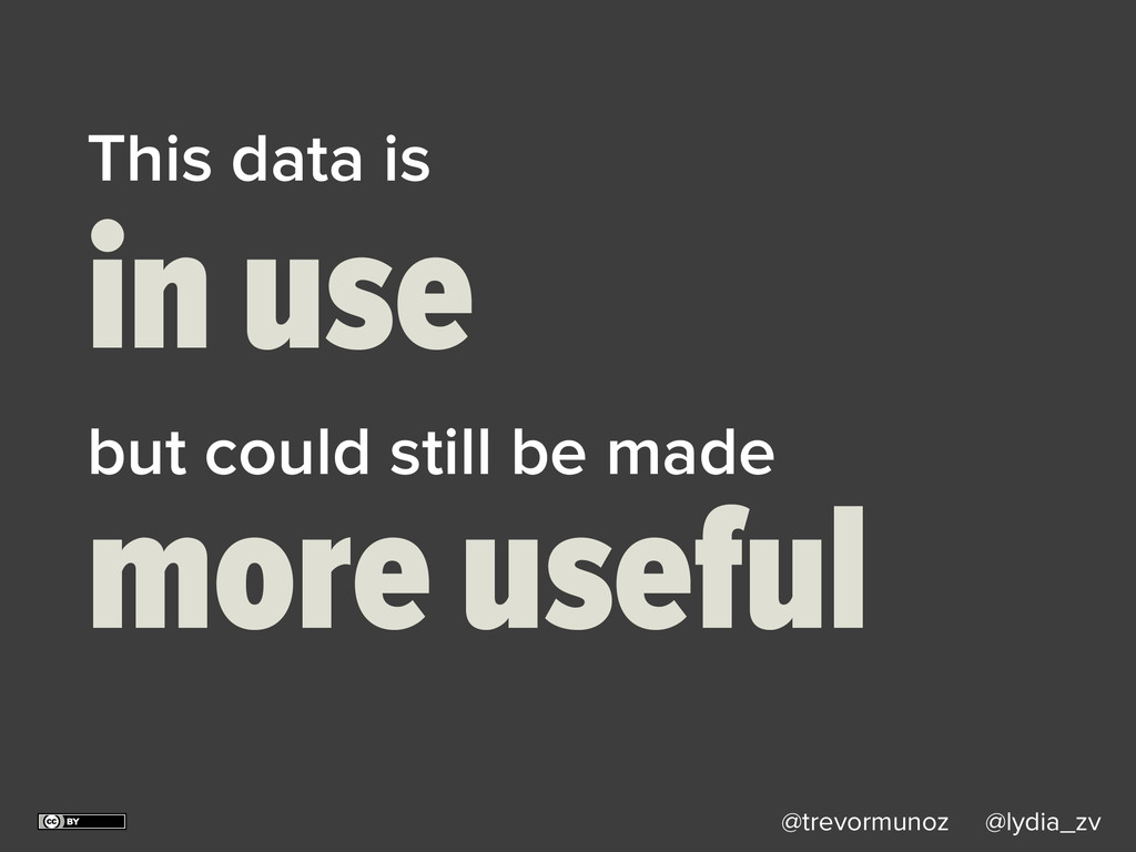 @trevormunoz @lydia_zv This data is in use but ...