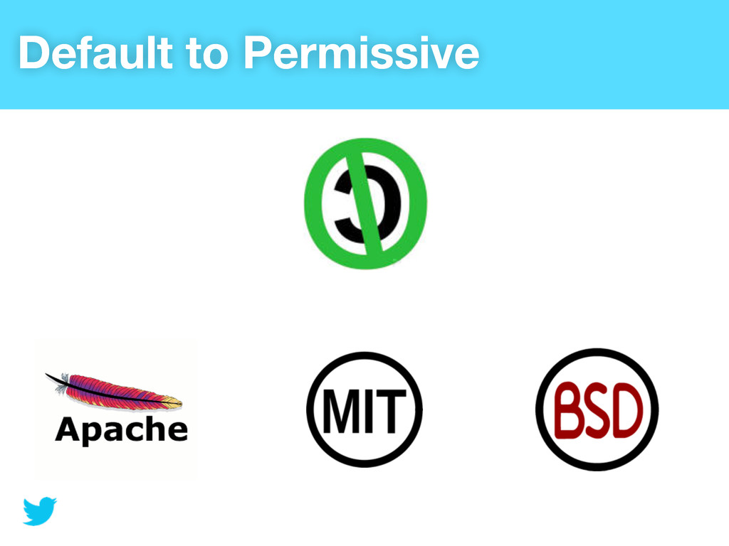 Default to Permissive
