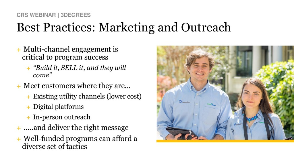 Best Practices: Marketing and Outreach CRS WEBI...