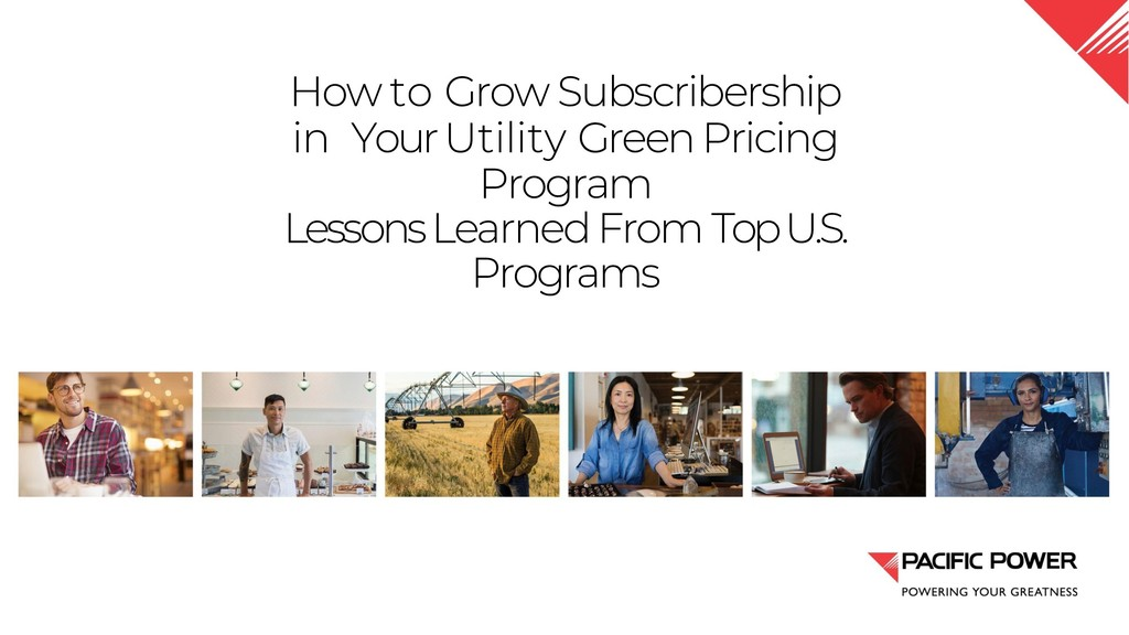 How to Grow Subscribership in Your Utility Gree...