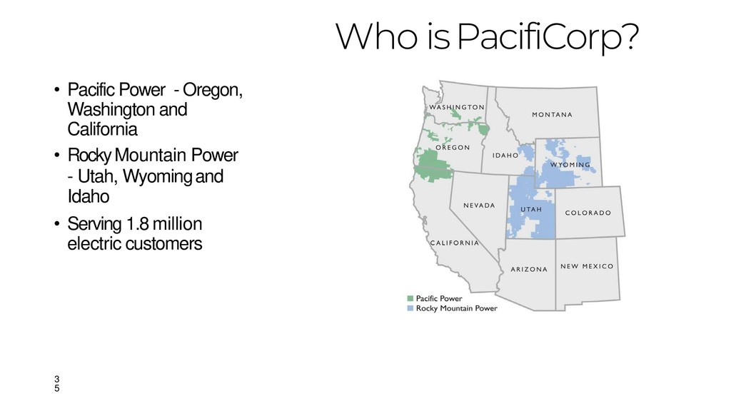 • Pacific Power - Oregon, Washington and Califo...