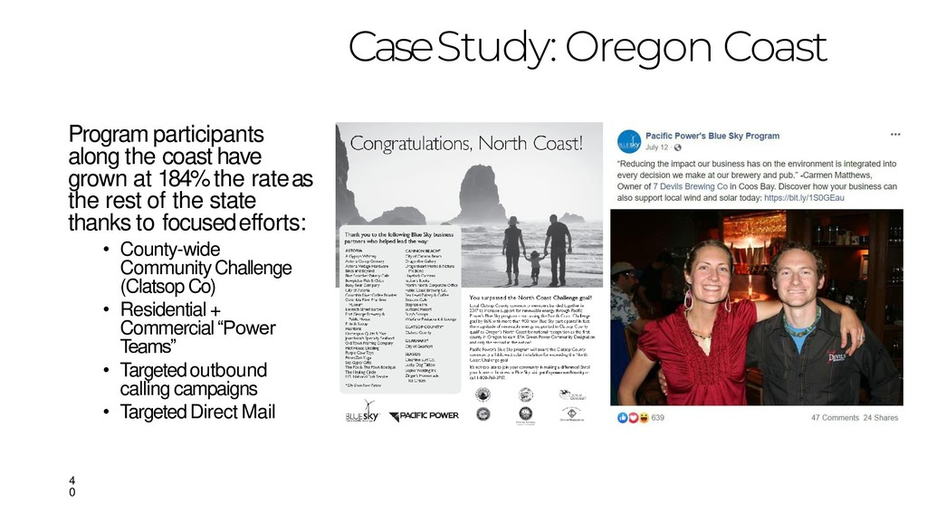 Case Study: Oregon Coast Program participants a...