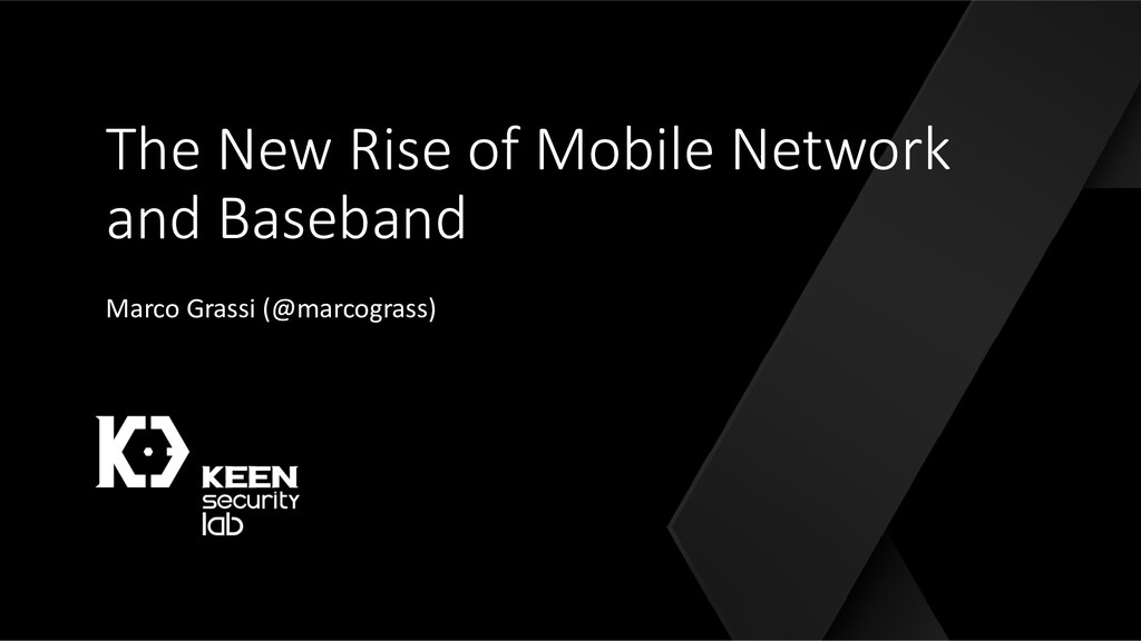 The New Rise of Mobile Network and Baseband Mar...
