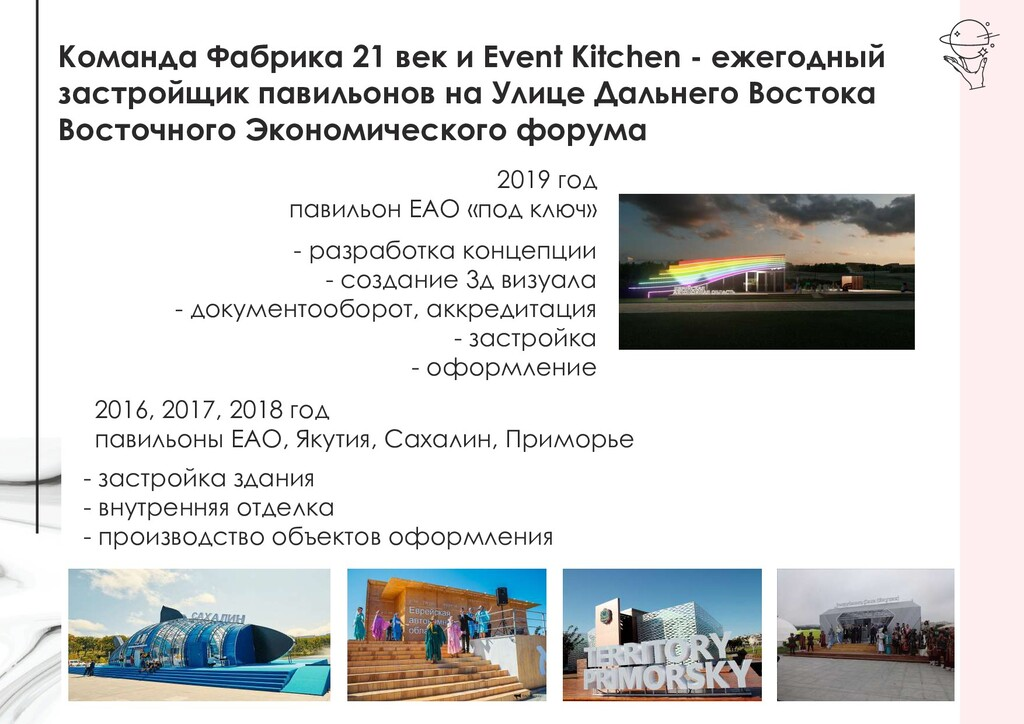Команда Фабрика 21 век и Event Kitchen - ежегод...