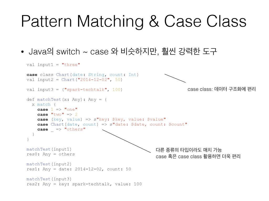 """val input1 = """"three"""" case class Chart(date: Str..."""