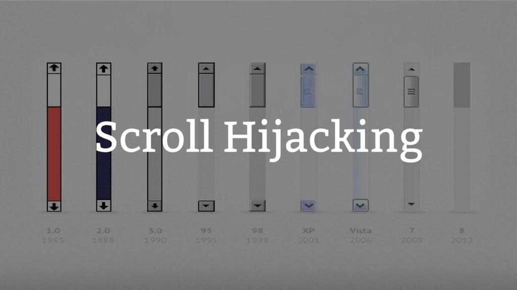 Scroll Hijacking