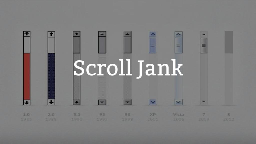 Scroll Jank