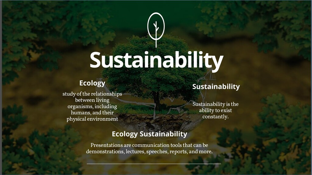 Sustainability study of the relationships betwe...
