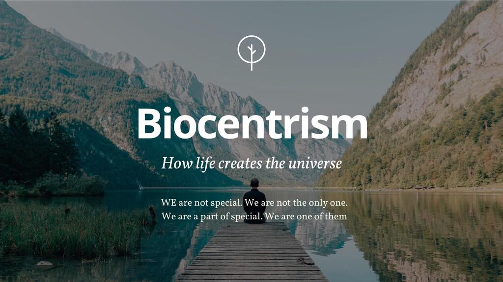 Biocentrism How life creates the universe WE ar...