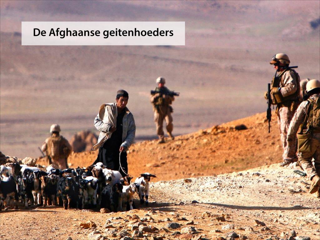 De Afghaanse geitenhoeders