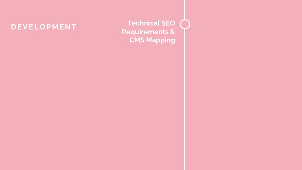 Technical SEO Requirements & CMS Mapping DEVELO...