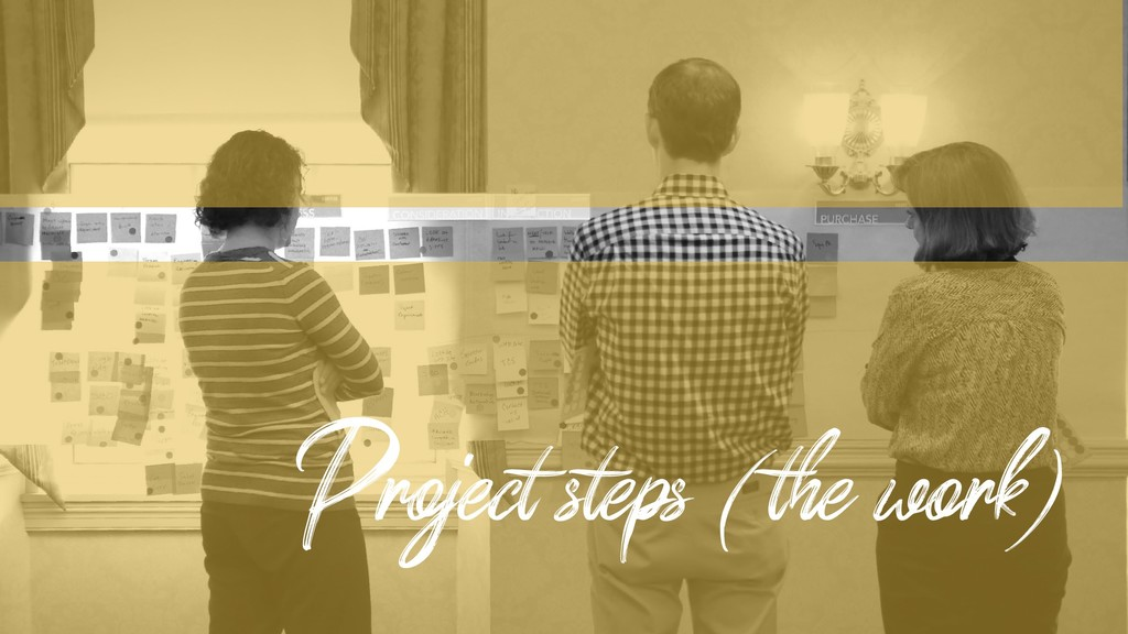 Project steps (the work)
