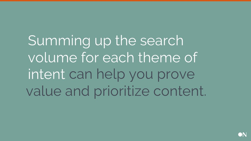 can help you prove value and prioritize content...