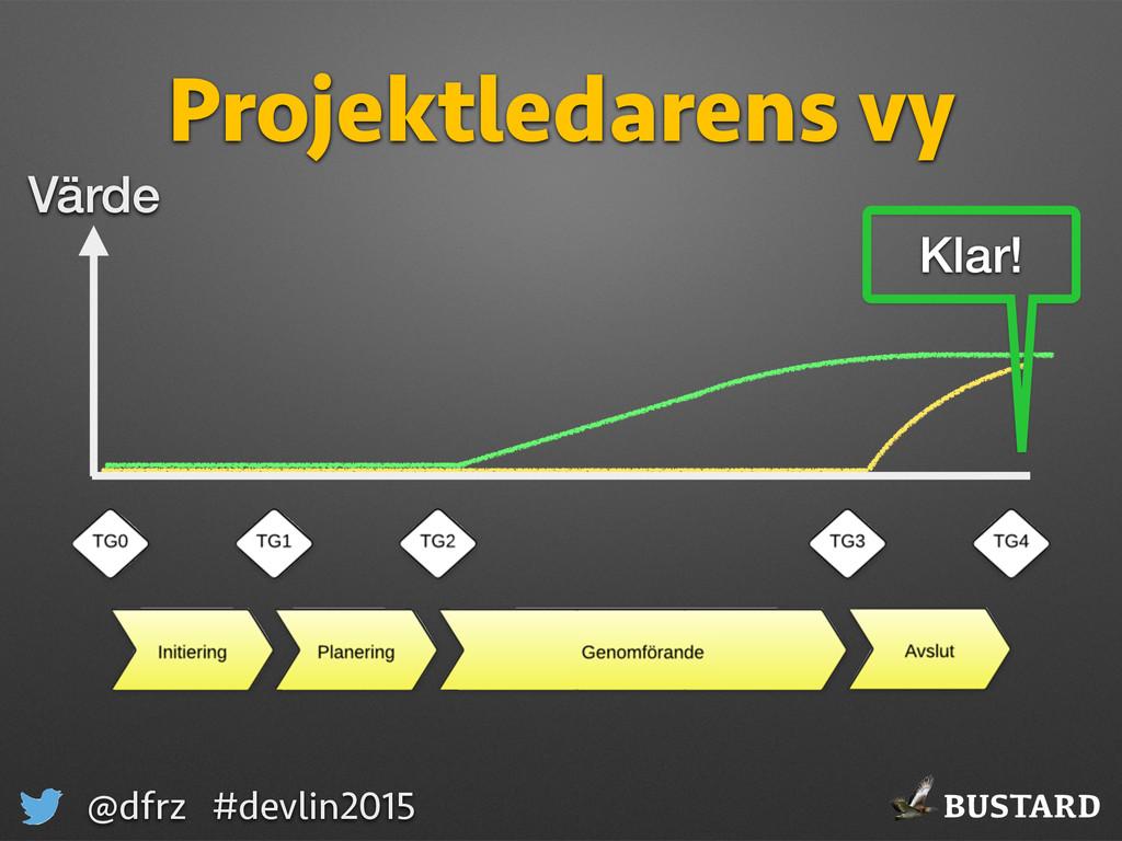 BUSTARD @dfrz #devlin2015 Projektledarens vy Vä...