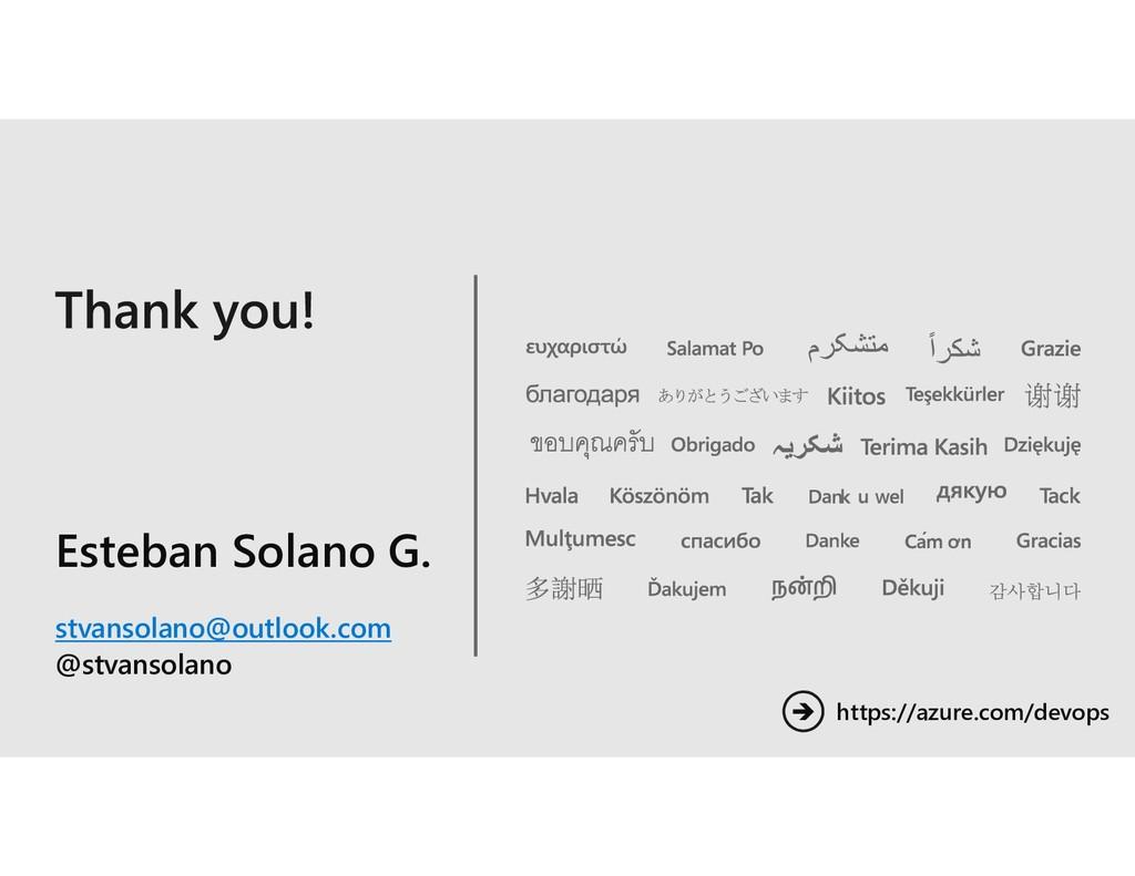 Esteban Solano G. stvansolano@outlook.com @stva...