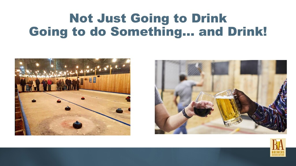 Not Just Going to Drink Going to do Something… ...