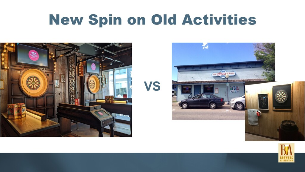 New Spin on Old Activities VS
